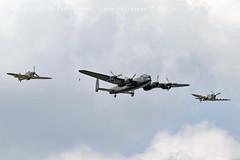 6149 BBMF Spitfire AB910 Lancaster Hurricane LF363 (photozone72) Tags: bbmf rafbbmf raf hurricane lf363 spitfire ab910 lancaster avro aviation aircraft airshows airshow canon canon7dmk2 canon100400f4556lii 7dmk2 farnborough fia