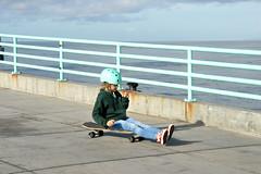 skateboard (greenelent) Tags: kids skateboard people manhattanbeach ca california