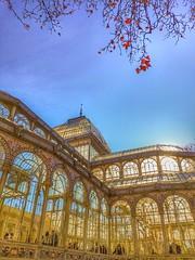 Palacio de Cristal (JesusYuste) Tags: madrid parque park retiro palacio cristal palace