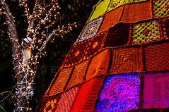 Búho (Walimai.photo) Tags: ganchillo crochet color colour búho owl night noche lx5 lumix panasonic salamanca detail detalle