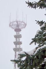 Gloomy Minsk (roman.romanenkov) Tags: minsk belarus tv tower