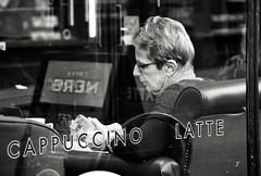 Cafe Culture (Bury Gardener) Tags: monochrome mono burystedmunds bw blackandwhite britain 2019 nikond7200 nikon people peoplewatching folks suffolk streetphotography street streetcandids snaps strangers candid candids abbeygatestreet