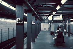 57th Street Subway (Tom_Jones7) Tags: 57th street subway station am early platform newyork april life citylife travel adventure canon travelphotography traveling travelbug travelmore goexplore explorer exploring newplaces myview 2015 2k15 photograph photo photographer bluegrey man baby travelling city passion lifestyle photographyislife photographerlifestyle justgoshoot icatching exploringtheworld optoutside exploretocreate discover discoverearth travelphoto worldpics stayandwander goroam keepexploring travelworld mylifeinphotos