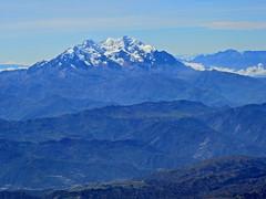 Monte Illimani - 6438 mts. (Mono Andes) Tags: andes bolivia illimani fotoaérea cordillerareal