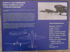 Curtiss C-46D Commando Sign (Serendigity) Tags: arizona pimaairspacemuseum tucson usa unitedstates aircraft aviation hangar indoors museum unitedstatesofamerica