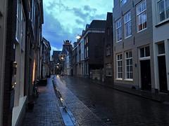 Dordrecht (Martijn Pouw) Tags: dordrecht holland historic historical houses sky city winter rain randstad downtown dutch nederland netherlands innerstadt street hollands zuidholland architecture architektur streetlight streets reflecting clouds car church dordt