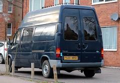 P680 MNK (Nivek.Old.Gold) Tags: 1996 ford transit 100 lwb 2496cc diesel