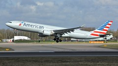 N277AY (AnDyMHoLdEn) Tags: americanairlines a330 oneworld egcc airport manchester manchesterairport 23r