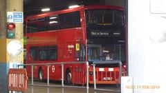 P1140935 VMH2545 LF68 PXX at Uxbridge Bus Garage Bakers Road Uxbridge London (LJ61 GXN (was LK60 HPJ)) Tags: metroline volvob5lhybrid mcvevoseti mcv evoseti 105m 10490mm vmh2545 lf68pxx nb923