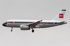 BA A319 BEA Retro livery (Martyn Cartledge / www.aspphotography.net) Tags: a319 aerodrome aeroplane air airbus aircraft airline airliner airplane airport aspphotography aviation bea cartledge civilairline civilairliner flight fly flying flywinglets geupj jet man manchester martyn plane retro runway transport wwwaspphotographynet wwwflywingletscom uk asp photography