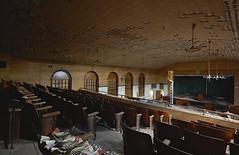 Theater Arts (jgurbisz) Tags: jgurbisz vacantnewjerseycom abandoned ma massachusetts theater westboroughstatehospital auditorium seats urbanexploration asylum westborough