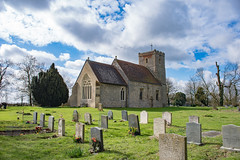 Reed church (Paul Wrights Reserved) Tags: church churches building buildings architecture history old oldbuildings graveyard sky skyscape skyscapes clouds cloudscape tree trees