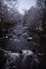 Water of Feugh (PeskyMesky) Tags: aberdeenshire wateroffeugh finzean banchory scotland river snow water winter canon canon5d eos