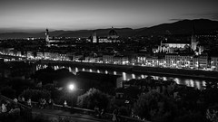 Florence at Dusk (shuttles) Tags: arno firenze italy florence nightscape