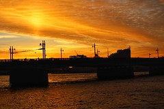 Sunset over the Neva, St. Petersburg (Live blog by Denis Snetkov) Tags: санктпетербург россия реканева нева архитектура искуство небо облака закат красота вдохновение набережная город питер петербург вода отражение stpetersburg russia nevariver neva architecture art sky clouds sunset beauty inspiration embankment city peter petersburg water reflection