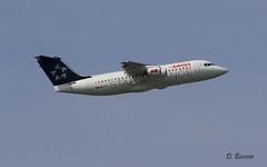 Bae 146 ~ HB-IYU  Swiss (Aero.passion DBC-1) Tags: spotting cdg 2008 roissy dbc1 david aeropassion avion aircraft aviation plane airport airlines airliner biscove bae 146 ~ hbiyu swiss