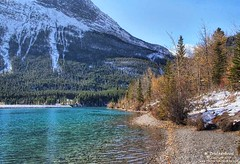 Turquoise Water of the Rundle Canal at Grassi Lakes Canmore in Alberta (PhotosToArtByMike) Tags: grassilakes canmore rundlecanal turquoisewater albertacanada alberta bowvalley canadiancity southerncanadianrockymountains canmorenordiccentreprovincialpark town city rockymountains provinceofalberta bowriver