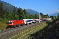 1116 151, IC 590 ( Salzburg > Klagenfurt ). Mühldorf-Möllbrücke (M. Kolenig) Tags: 1116 intercity baum wald berg