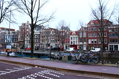More Random Adventures in Amsterdam (c.skoyles) Tags: amsterdam travel dam square damsquare art culture by night amsterdamnight time canabis marijuana bicycle