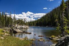 Bear Lake Hike_20180911_0291 (sbtaylor706) Tags: colorado lake bear granite clouds sky mountains rocky mountain national park