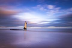 Talacre lighthouse (Lukasz Lukomski) Tags: lighthouse talacre pointofayr wales cymru walia greatbritain landscape uk wielkabrytania lukaszlukomski nikond7200 sigma1020 longexposure sunrise coast sea