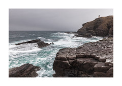 Stormy Stoer (Paul Cronin 1) Tags: assynt canon canon5ds canonef2470mmf28mk2 lighthouse northwestscotland rocks scotland scottishhighlands seascape stoer stoerlighthouse waves sea scottish highlands coast flickr countryside