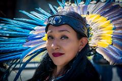 Aztec dancer. Mexico City (ravalli1) Tags: mexico traditional aztec mexicocity woman dancer concheros art dance beauty ciudaddemexico zocalo travel vacations 2018 mexicanwomen