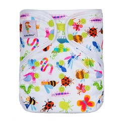Happy Leak-Free One Size Printed Cover (kawaiibabydiapers) Tags: baby cloth diapers online