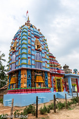 Temple in rural Odisha (asheshr) Tags: 18140mm d7200 incredibleindia india nikkon nikkor odisha orissa temple templesofindia templesofodisha templesoforissa architecture colourful colorful