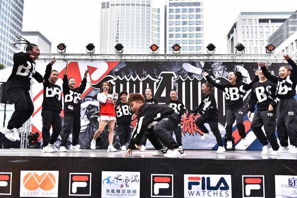FILA X HERO 4 WHO國際街舞大賽參賽舞團 來自高雄的Yo Babes展現年輕活力