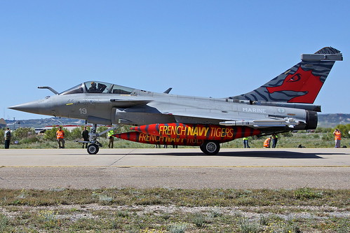 19  F-XGBI Rafale M  Zaragoza NTM 2016