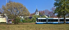 D'andere Blik: Dorpstram (Peter ( phonepics only) Eijkman) Tags: amsterdam city combino gvb vintage rail rails strassenbahn streetcars tram transport trams tramtracks trolley nederland netherlands nederlandse noordholland holland