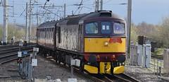 33029 1Z87 (47843 Vulcan) Tags: 33012 33029 crompton west coast railways sulzer branch line society 1