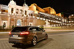 Ford Mondeo Titanium-S (mufracsek) Tags: ford mondeo titanium titaniums night lights nikon d7500 dslr car wagon turnier budapest hungary 2019 auto autó