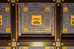 20181226-DSC01486 Amsterdam, Netherlands (R H Kamen) Tags: 19101919 amsterdam gelderland holland netherlands otterlo amsterdamschool architecture artdeco artnouveau ceiling expressionism indoor indoors pattern rhkamen squares yellow