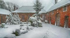 Merry christmas ! (JLM62380) Tags: merrychristmas merry christmas house farm snow bricks noël blanc white red rouge