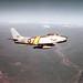 -north american rf-86f 52-4522 15th trs over honshu japan mar55  pilot don macdonald