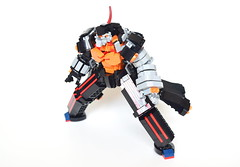 Dix-Neuf (ExclusivelyPlastic) Tags: lego mech mecha diebuster gunbuster anime robot dixneuf buster machine scifi