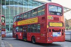 Service 607 (PD3.) Tags: metroline volvo wright vw1566 vw 1566 lk55aav lk55 aav white city shepherds bush westfield london shops shopping centre bus buses station england uk 607