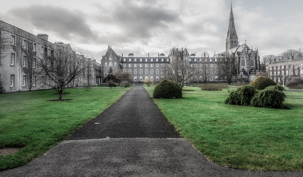 TODAY I VISITED ST. PATRICK'S COLLEGE IN MAYNOOTH [THE NATIONAL SEMINARY OF IRELAND]-147768