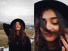 Vanjuška (jovana_damnjanovic) Tags: nikon d40 35mm diptych girl portrait winter 2019 january