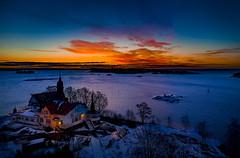 Klippan (Samuli Koukku) Tags: klippan helsinki finland drone dji mavic2 pro landscape sea seascape sunrise balticsea nature naturephotography winter january north