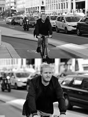 [La Mia Città][Pedala] (Urca) Tags: milano italia 2018 bicicletta pedalare ciclista ritrattostradale portrait dittico bike bicycle nikondigitale scéta biancoenero blackandwhite bn bw 118020