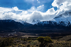 View of the Fitz Roy (Pambuffetti) Tags: fitzroy fitz roy mountain mountains patagonia argentina roadtrip cloud clouds sky 2018