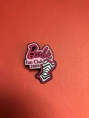 Barbie Fan Club 2009 enamel pin #2009 #barbie #pin #cool #savers (direngrey037) Tags: 2009 barbie pin cool savers
