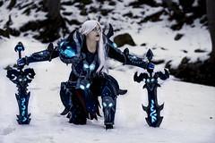 Sonya_7 (saromon1989) Tags: cosplay cosplayer girl woman warrior beathknight wow gaming cosplayphotography sonya diablo blizzard snow winter armor armour