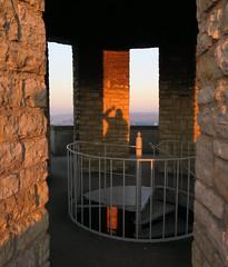 Hello, anybody there? (barbmz) Tags: bismarckturm gaualgesheim evening abend schatten shadow tower stairs treppen rheinhessen
