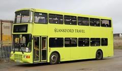 Lankford Travel, Rushden, Northamptonshire Volvo Olympian / NCME  N295 CKB at Knuston Home Farm. (Gobbiner) Tags: palatine2 ncme olympian 0295 lankfordtravel n295ckb volvo merseyside deckerbus 3295 arrivanorthwest northerncounties rushden
