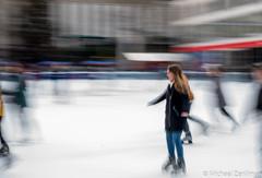Ice Skating, Bryant Park, Winter 2019 (Michael Zenilman Photographs) Tags: photography nyc iceskating bryantpark legacylens nikon