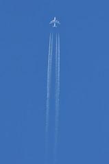 OTT: 'EK43C' (EK0202) JFK-DXB (A380spotter) Tags: airbus a380 800 msn0017 a6ede expo2020dubaiuaeofficialpremierpartner decal sticker 38m longrangeconfiguration 14f76j427y الإمارات emiratesairline uae ek ek43c ek0202 jfkdxb cruisealtitude fl370 flightlevel370 37000 37000feet 11278m ott overthetop overhead vapourtrail contrail contrails trailing jetstream dotspot dotspotting sky london